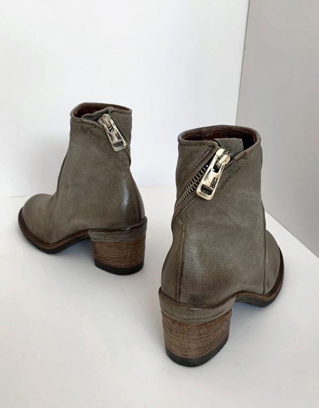 נעלי נשים - A.S. 98 - מגפוני עור JAMAL - אפור