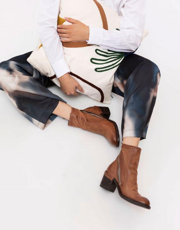 נעלי נשים - A.S. 98 - מגפוני עור JAMAL - חום