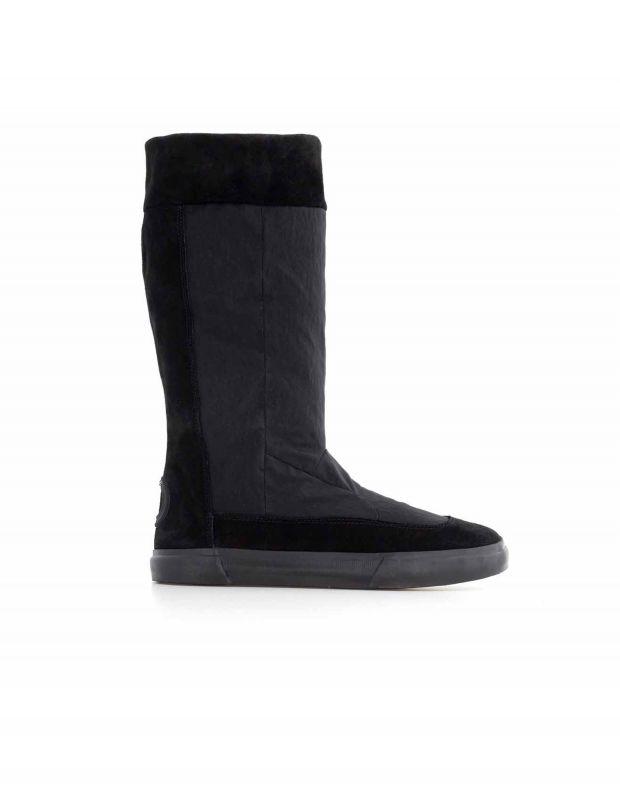 נעלי נשים - Aro - מגפי זמש ובד EMMA - שחור