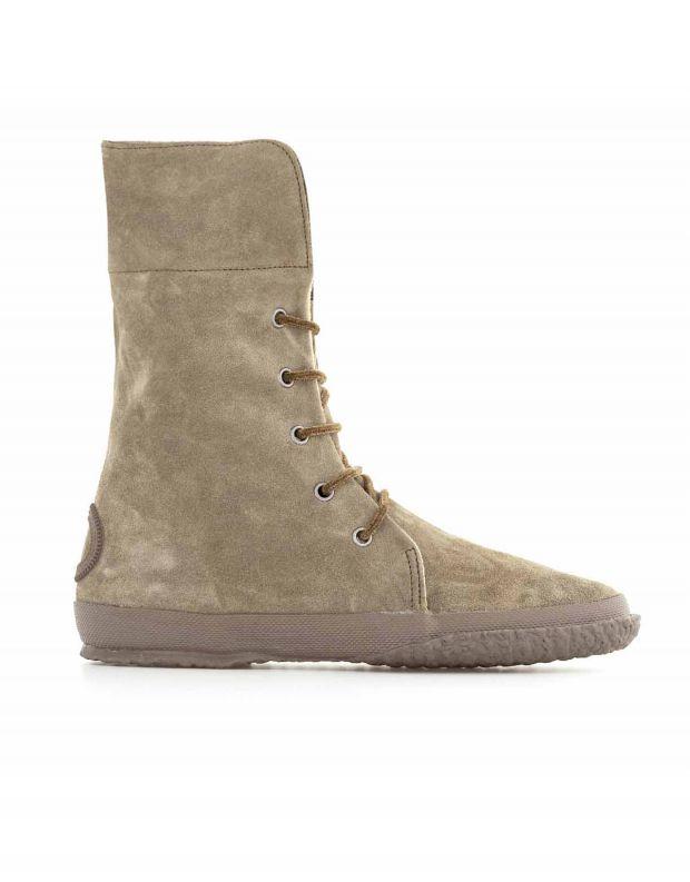 נעלי נשים - Aro - מגפי זמש WILLY - זית