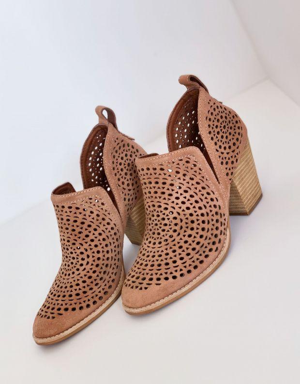 נעלי נשים - Jeffrey Campbell - נעלי עקב ROSALEE  לייזר - ורוד