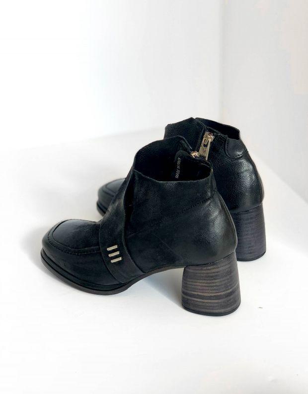 נעלי נשים - A.S. 98 - מגפונים עם עקב DIZA - שחור
