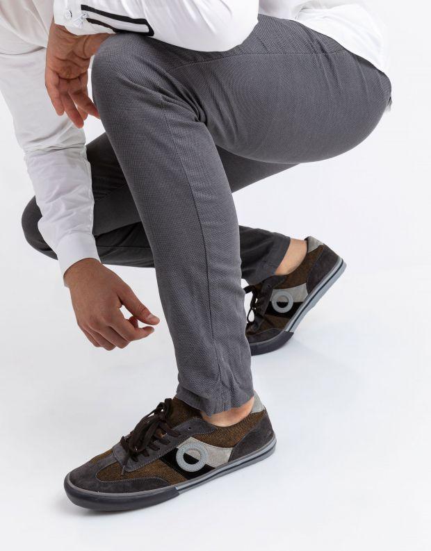 נעלי גברים - Aro - סניקרס POL - אפור