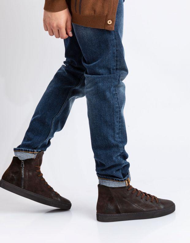 נעלי גברים - Crime London - סניקרס KANE - חום