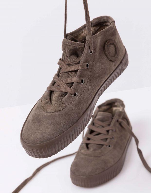 נעלי נשים - Aro - סניקרס זמש NOELLE - חום
