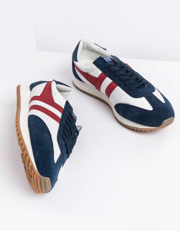 נעלי גברים - Gola - סניקרס BOSTON 78 - לבן   כחול