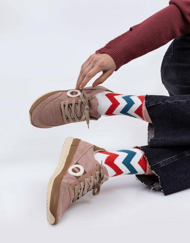 נעלי נשים - Aro - סניקרס JAQ - ורוד