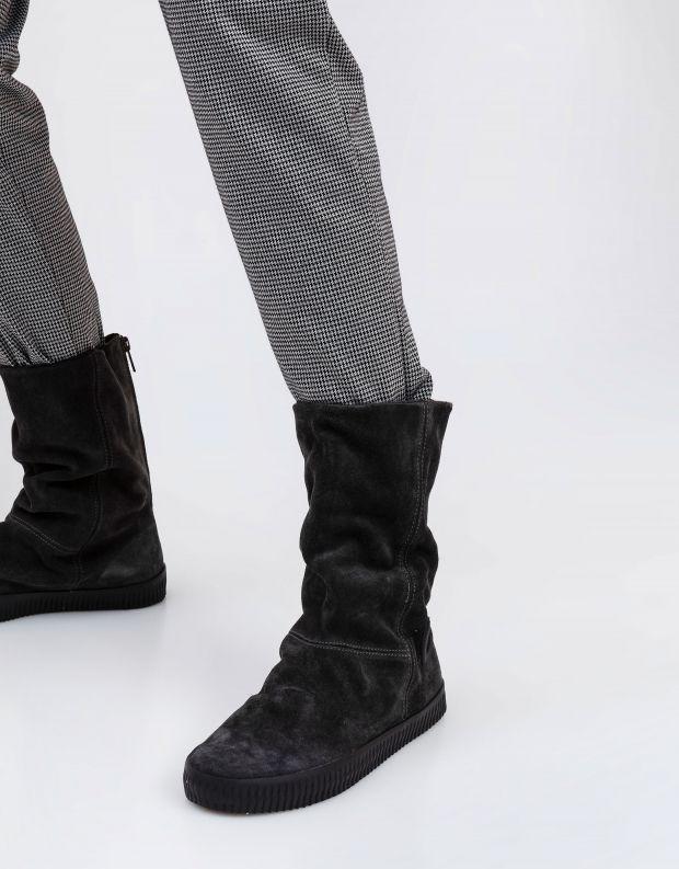 נעלי נשים - Aro - מגפיים עם רוכסן NOELLE - אפור