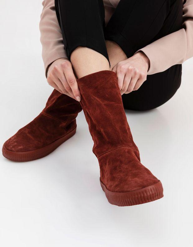 נעלי נשים - Aro - מגפיים עם רוכסן NOELLE - חמרה