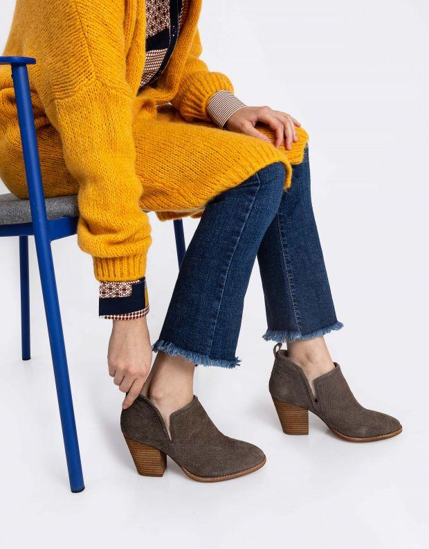 נעלי נשים - Jeffrey Campbell - נעלי עקב ROSALEE - חום נחש