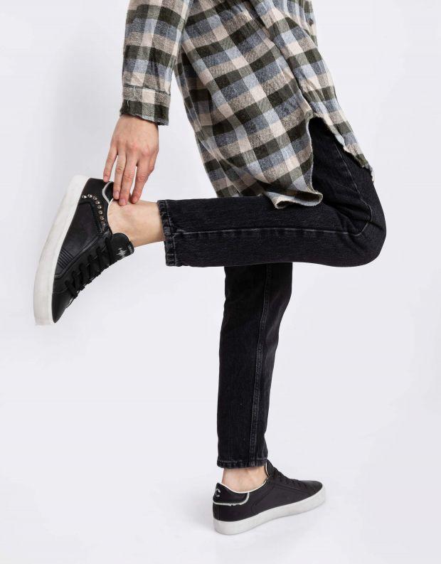 נעלי נשים - Crime London - סניקרס SOUL ניטים - שחור