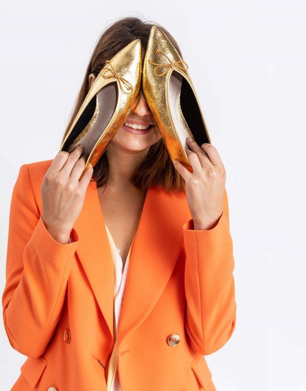 נעלי נשים - Schutz - נעלי בלרינה KALEA - זהב