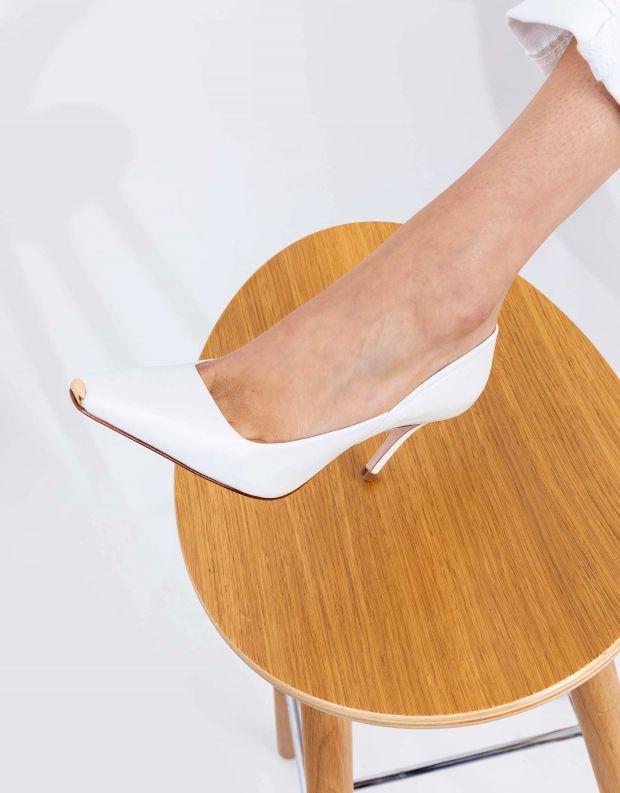 נעלי נשים - Schutz - נעלי סירה JOEL - לבן