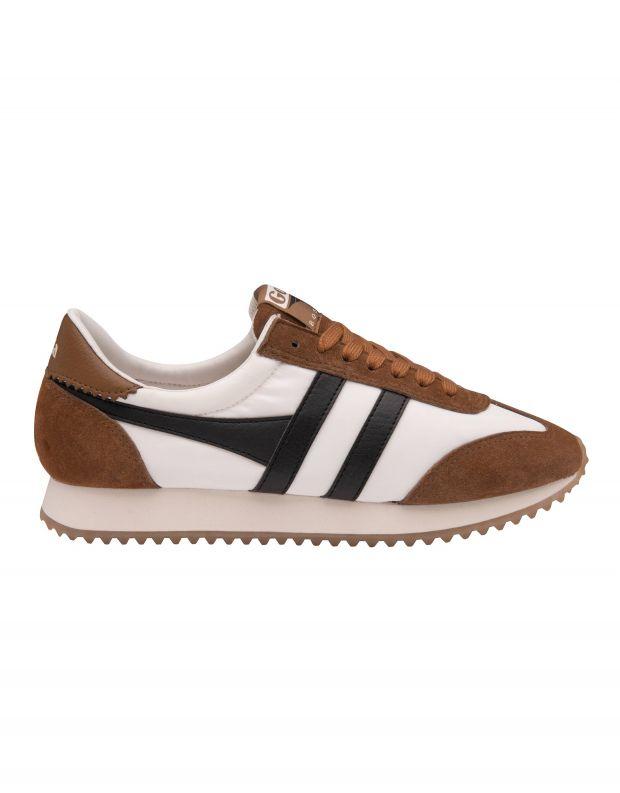 נעלי גברים - Gola - סניקרס BOSTON 78 - לבן   חום