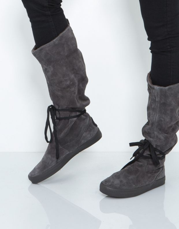 נעלי נשים - Aro - מגף NOELLE - אפור