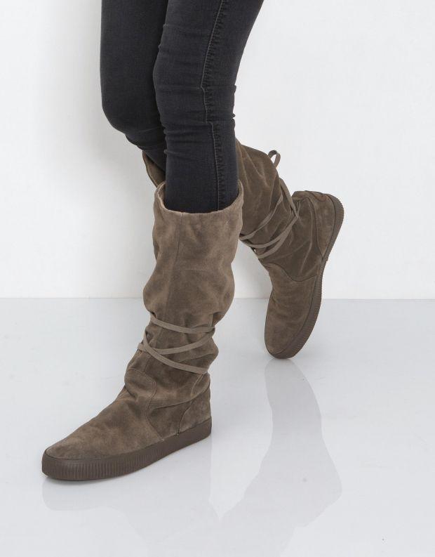 נעלי נשים - Aro - מגף NOELLE - חום