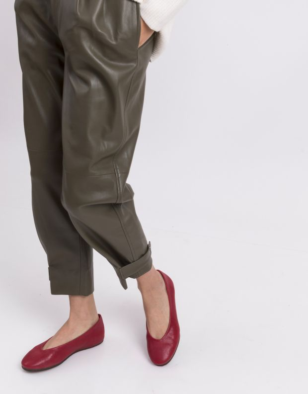 נעלי נשים - Vialis - נעלי סירה LU - אדום