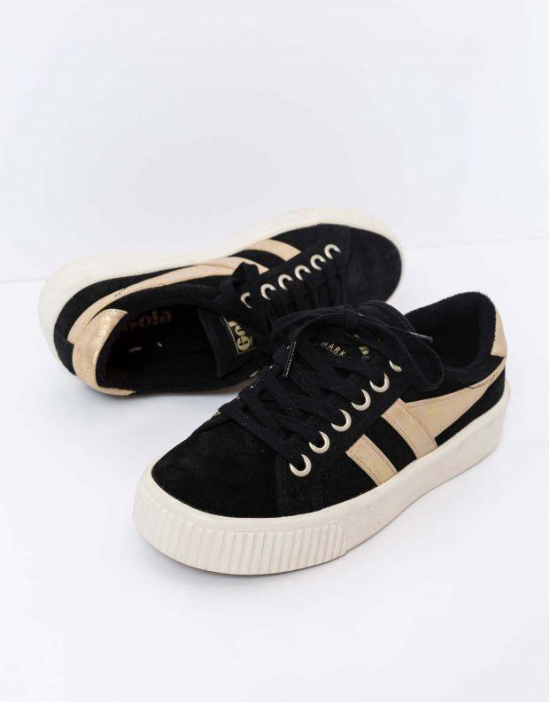 נעלי נשים - Gola - סניקרס BASELINE M C MIRRO - שחור