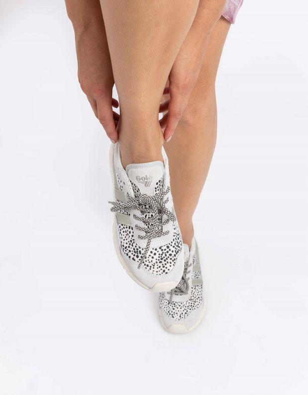 נעלי נשים - Gola - סניקרס ECLIPSE SAVANNA - לבן נקודות
