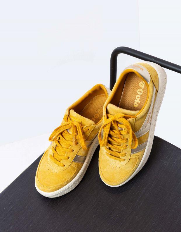 נעלי נשים - Gola - סניקרס GRANDSLAM PEARL - צהוב