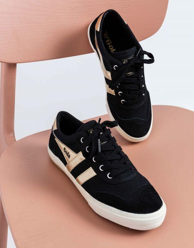 נעלי נשים - Gola - סניקרס BADMINTOM GOLD - שחור