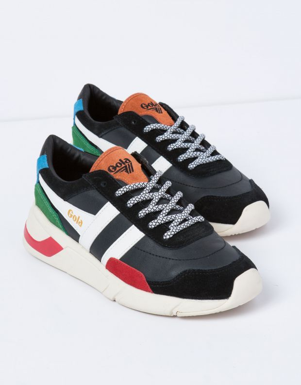נעלי נשים - Gola - סניקרס ECLIPSE TRIDENT - שחור