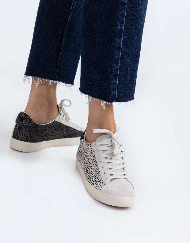 נעלי נשים - Gola - סניקרס NOVA SAVANNA - לבן נקודות