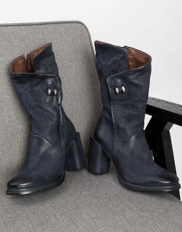 נעלי נשים - A.S. 98 - מגפיים עם עקב SERENITY - כחול