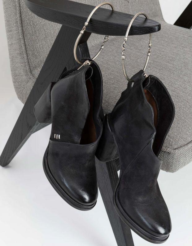 נעלי נשים - A.S. 98 - מגפונים פתוחים SERENITY - שחור