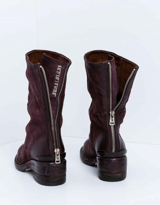 נעלי נשים - A.S. 98 - מגפי עור MIRACLE - חציל