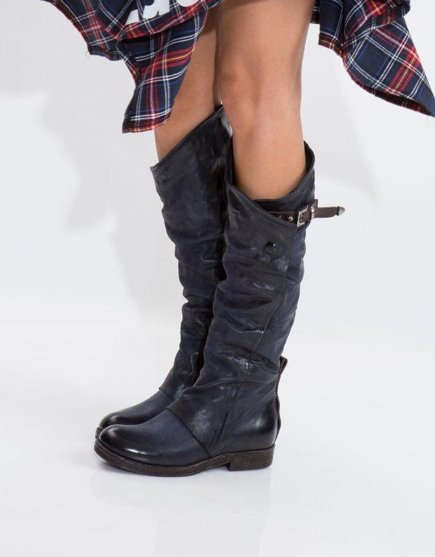 נעלי נשים - A.S. 98 - מגף VERTI - כחול