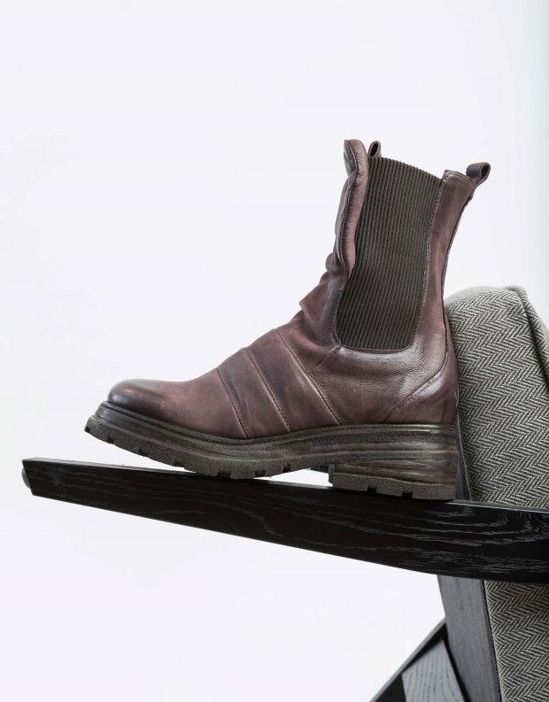 נעלי נשים - A.S. 98 - מגפוני צ'לסי LOUISE - חציל
