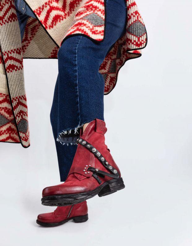 נעלי נשים - A.S. 98 - מגפון SAINTEC מעטפת - אדום