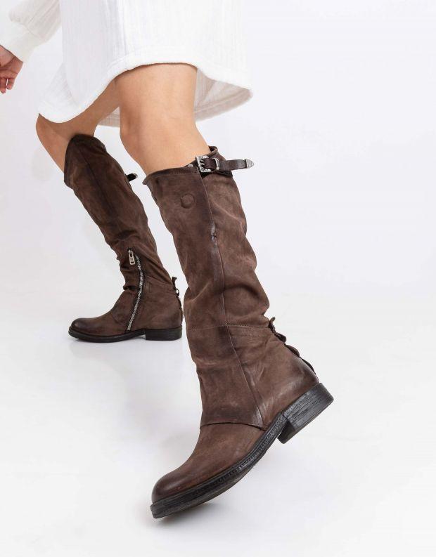 נעלי נשים - A.S. 98 - מגף VERTI - חום