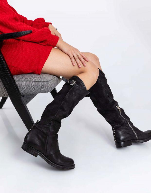 נעלי נשים - A.S. 98 - מגף VERTI - שחור