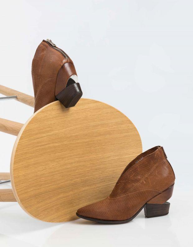 נעלי נשים - A.S. 98 - מגפונים פתוחים TINGET - קאמל