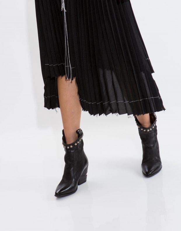 נעלי נשים - A.S. 98 - מגפוני TINGET ניטים - שחור