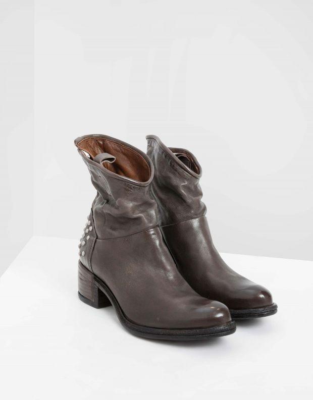נעלי נשים - A.S. 98 - מגפונים עם ניטים OPEA - אפור
