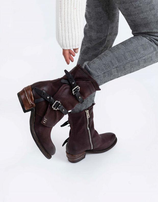 נעלי נשים - A.S. 98 - מגפון IGNIX מעטפת - חציל