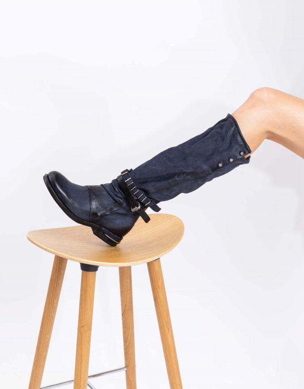 נעלי נשים - A.S. 98 - מגפיים גבוהים TEAL - כחול