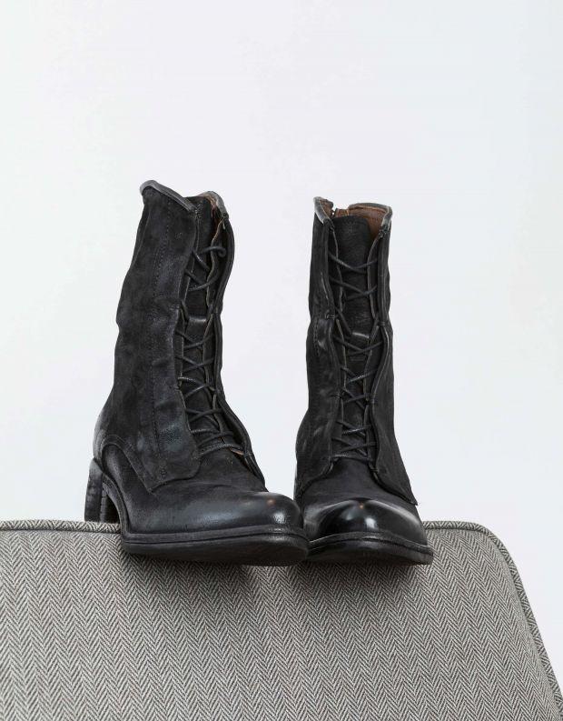 נעלי נשים - A.S. 98 - מגף OPEA שרוך - שחור