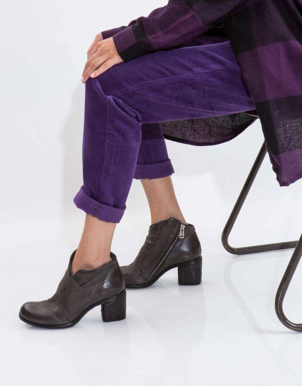 נעלי נשים - A.S. 98 - מגפון BALTIMORA - אפור