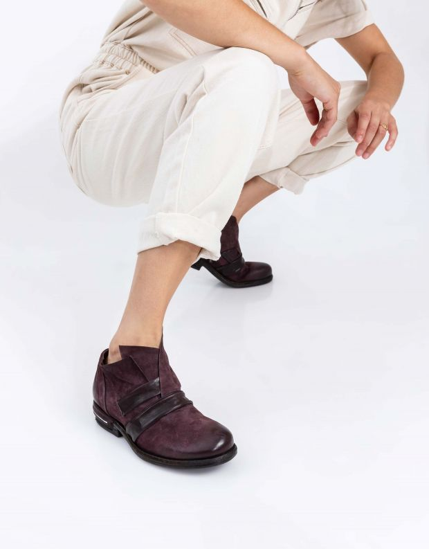 נעלי נשים - A.S. 98 - נעליים עם רצועות TEAL - חציל