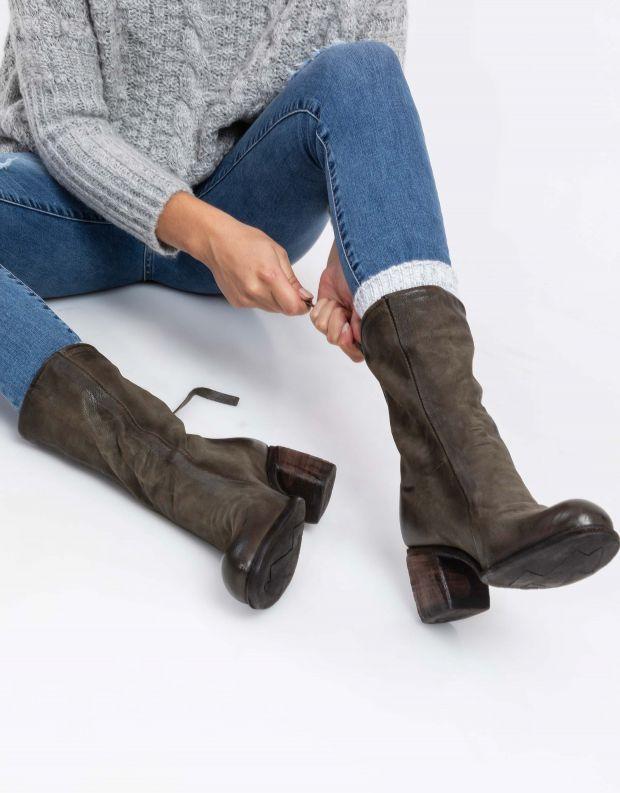 נעלי נשים - A.S. 98 - מגף BALTIMORA - ירוק