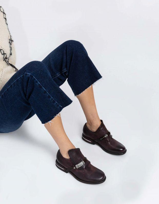נעלי נשים - A.S. 98 - נעליים עם לולאות TEAL - חציל
