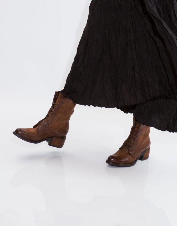 נעלי נשים - A.S. 98 - מגף OPEA שרוך - חום בהיר