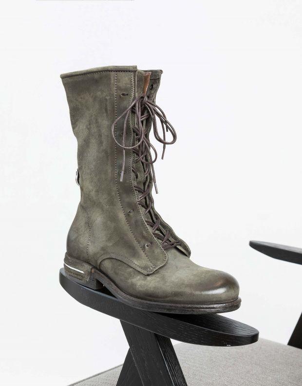 נעלי נשים - A.S. 98 - מגף TEAL שרוך - ירוק