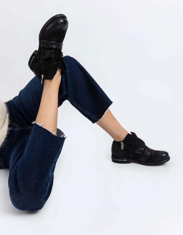 נעלי נשים - A.S. 98 - נעליים עם רצועות TEAL - שחור
