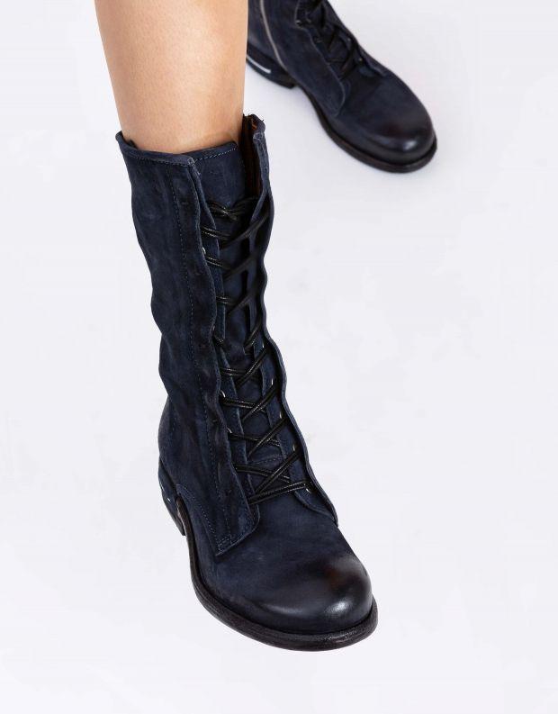 נעלי נשים - A.S. 98 - מגף TEAL שרוך - כחול