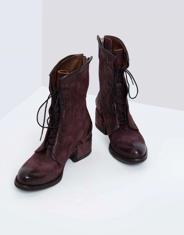 נעלי נשים - A.S. 98 - מגף OPEA שרוך - חציל